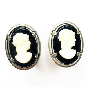 Vintage Cameo Victorian Cuff Links